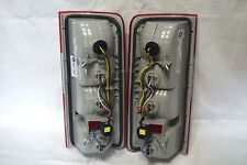 Rear Tail Light Lamps w/6 Light Bulbs One Pair For 2010-2013 Transit Connect