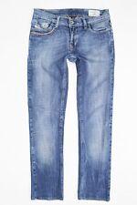 "DIESEL ""LIV"" stretchy slim fit blue jeans W26 L27"