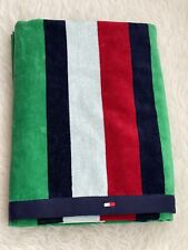 NEW Genuine Tommy Hilfiger Beach Towel Multicolour 90x180cm