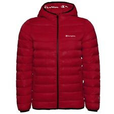 Champion Hooded Jacket Herren Outdoor Jacke Kapuzen Winterjacke 214869-RL508