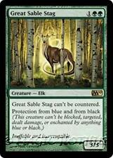 GREAT SABLE STAG M10 Magic 2010 MTG Green Creature — Elk RARE