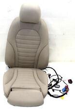 Mercedes W253 GLC Sitzpolster Polster Fahrersitz belüftet SHZ Ledersitz beige