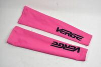 Verge Women's Fleece Cycling Arm Warmers, Pink, Size XL, Brand New
