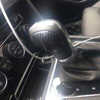 Carbon Schaltknauf Blende Abdeckung Passend für VW Golf 6 7 T-ROC Tiguan AD1