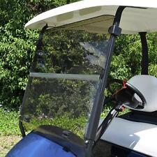 King B Club Car Precedent Hinged Golf Car Tinted Windshield Cart