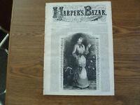 Harper's Bazar-June 1, 1881-Engravings-Complete Issue-Women's Fashion-Dresses
