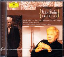 Fischer-Dieskau, Engel, Nicolet, Poppen: Debussy, Ravel, Ives - Melodies, Songs