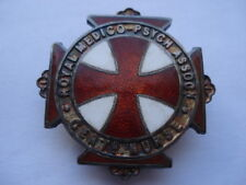 1944 ROYAL MEDICO-PSYCH ASSOCT'N CERTIFIED NURSE SILVER&ENAMEL NURSES  BADGE