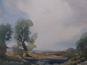 SUSSEX SPRING ROYAL ACADEMY LISTED ARTIST JOHN PILLOW FREE SHIPPING TO ENGLAND