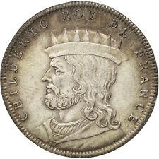 [#400005] Portraits des rois de France, Childéric, Médaille