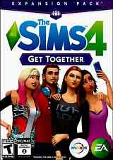 THE SIMS 4 GET TOGETHER EXPANSION PACK (PC-MAC )  FACTORY SEALED IN CASE