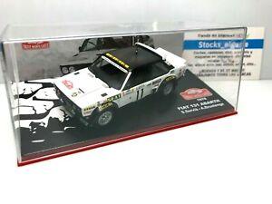 IXO ALTAYA 1/43 FIAT 131 ABARTH S.SERVIA A.BRUSTENGA RALLYE MONTECARLO 1978 CAR