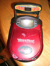 Video Now Personal Video Player Hasbro 2003 Red with Detachable Light