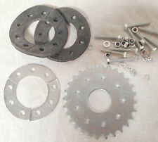 80cc engine motor bike parts - 28 teeth Flat sprocket with mount Z
