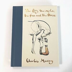 The Boy the Mole the Fox And the Horse Hardcover NEW Charlie Mackery