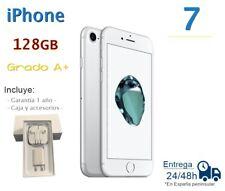 IPHONE 7 DE 128GB PLATA REACONDICIONADO LIBRE / GRADO A+ / CAJA Y ACCESORIOS