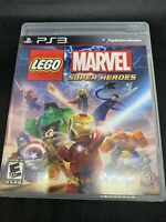 LEGO Marvel Super Heroes Sony PlayStation 3 PS3 Game Complete