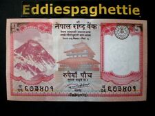 Nepal 5 Rupees 2017 UNC P-new