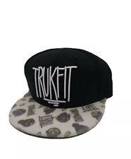 TrukFit mens 100% Authentic Adjustable Snapback black logo