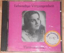 Tiana Lemnitz - Lebendige Vergangenheit (CD)