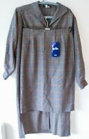 Vintage Designer *Jean Muir* 2 Piece in Multi Check - Skirt UK 12+ Coat - UK 8