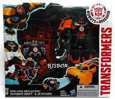 Transformers Robots In Disguise Mini-Con Deployers Autobot Drift & JetStorm RID