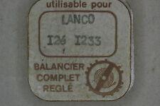 Balance complete LANCO 1233 bilanciere completo 721 NOS