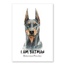 Doberman Pinscher Dog Pet Print Modern Canvas Wall Art Poster Home Decor Picture