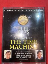 Time Machine - HG Wells - Alien Voices - Rare Cassette Audiobook Tapes