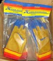 HOBIE Skateboard Gloves - Original 70s old school stock - X-Small - COLLECTABLE