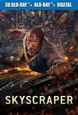 Skyscraper NEW 3D BLU-RAY HD pre-order est Oct 2018 Dwayne Johnson Neve Campbell
