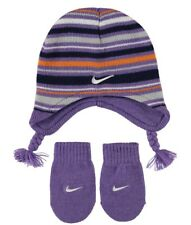 e26fc1973f3 Nike Baby Girls Beanie Mittens Glove Set Infant Kids 12-24 Months