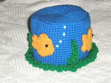 *Goldfish Bowl Toilet Tissue Cover crochet PATTERN INSTRUCTIONS