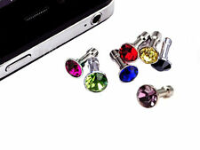 Jewel stopper pink for entry headset for iphone, samsung, universal.