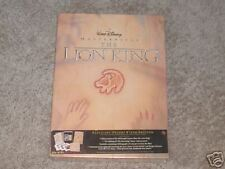 THE LION KING EXCLUSIVE DELUXE VIDEO EDITION NEW IN BOX