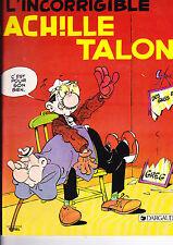 L'INCORRIGIBLE ACHILLE TALON RARE PUBLICITE TOTAL 1983 BE