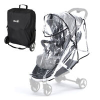 Allis Stroller Rain Cover and Travel Carry Bag for Plume Pushchair