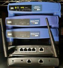 Lots 5 Cisco Linksys Wireless VPN DSL Router G WRT54G, BEFVP41 WRT54GL BEFSR11