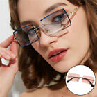 Womens Rectangle Cut Sunglasses Candy Color Tinted Lens UV 400 Eyewear