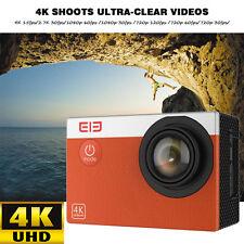 "ELE Explorer S Sports Action Camera DV DVR Cam Waterproof WiFi 4K 16MP Camera 2"""
