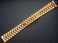 20MM SOLID STEEL GOLDEN PRESIDENT BRACELET BAND FOR OLD ROLEX MEN DAY-DATE WATCH