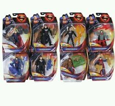 "DC COMICS/ SET 8 FIGURAS SUPERMAN 10 CM- ACTION FIGURES 4"" IN BLISTER"