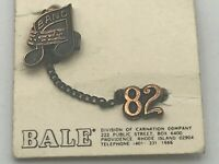 1982 Vintage School BAND Pin Chain + '82 Pin D4