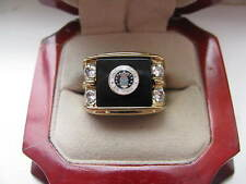 "Superb NEW Mens ""United States Air Force"" CREST Gold Ring"