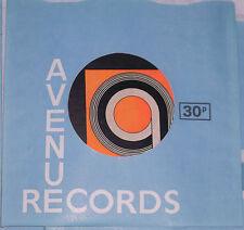 """5 sí 5 nuevo avenida 7"""" Mangas de registros de papel/chaquetas impreso en 1971 raro problema"""