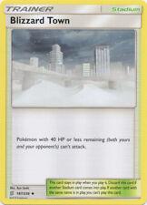 x4 Blizzard Town - 187/236 - Uncommon Pokemon SM11 Unified Minds M/NM English