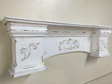 "French Country Mantle Shelf,Primitive Mantel,Large Mantle shelf Fancy Mantle,42"""