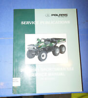 2000 2001 Polaris Sportsman 6x6 OEM Paper Factory Service Manual