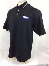 Shimano Top Shelf Black Polo Shirt Mens Size XL Cotton Fishing Reels Gear Rods