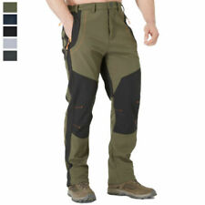 Men's Winter Warm Tactical Pants Waterproof Snowboard Ski Pants Hiking Trouser s